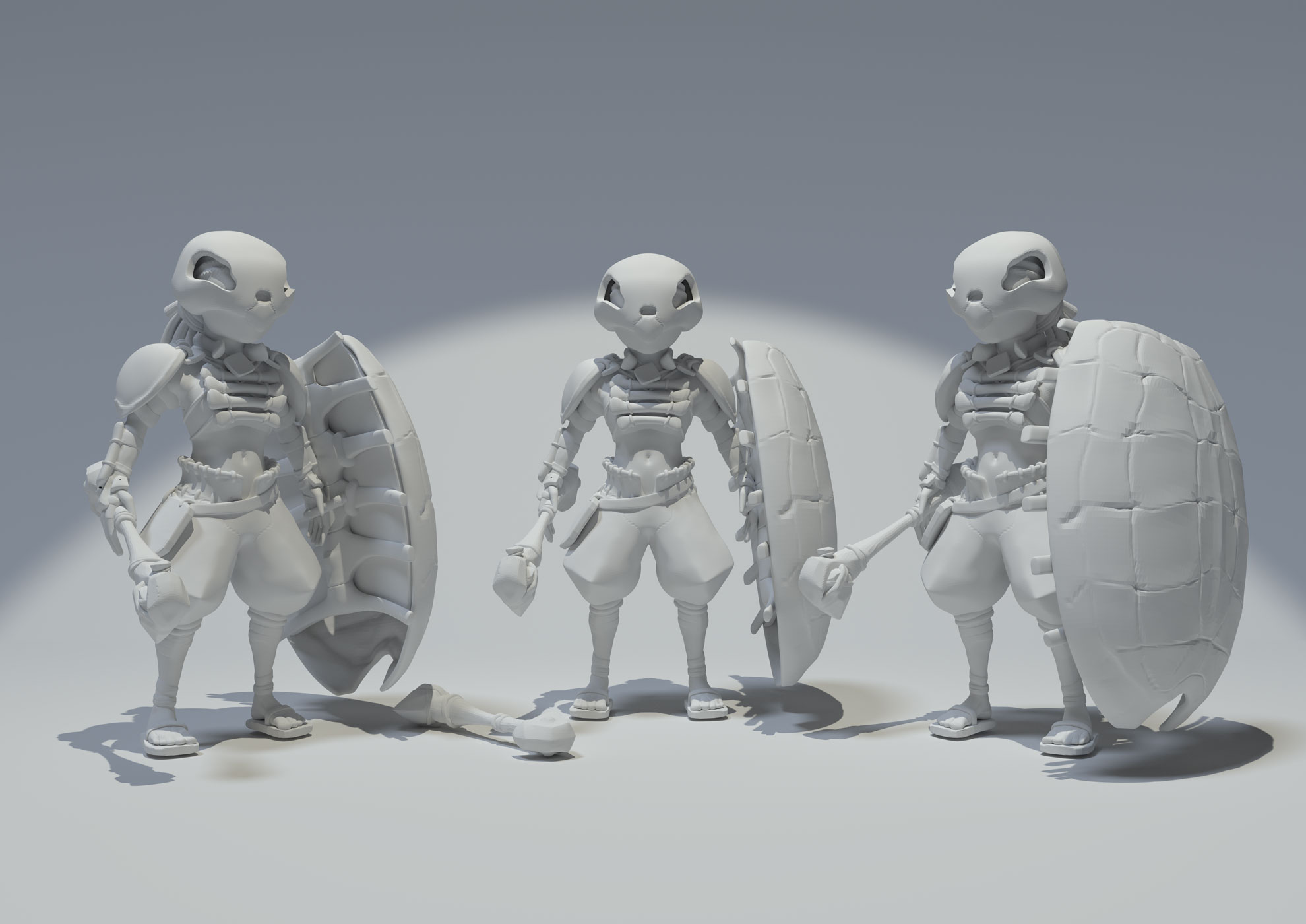 Monolith - Character design