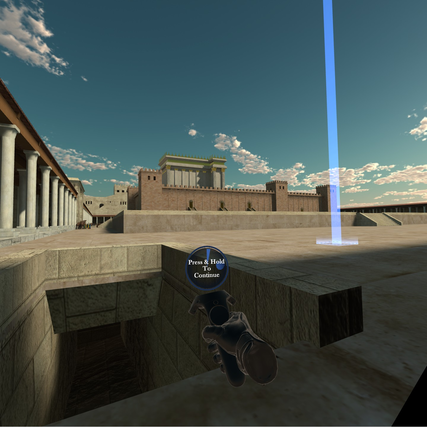 Temple of Herod VR Experience