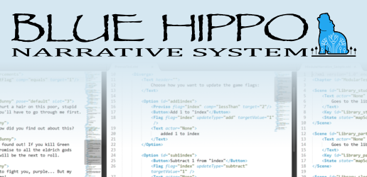 Blue Hippo XML Narrative System