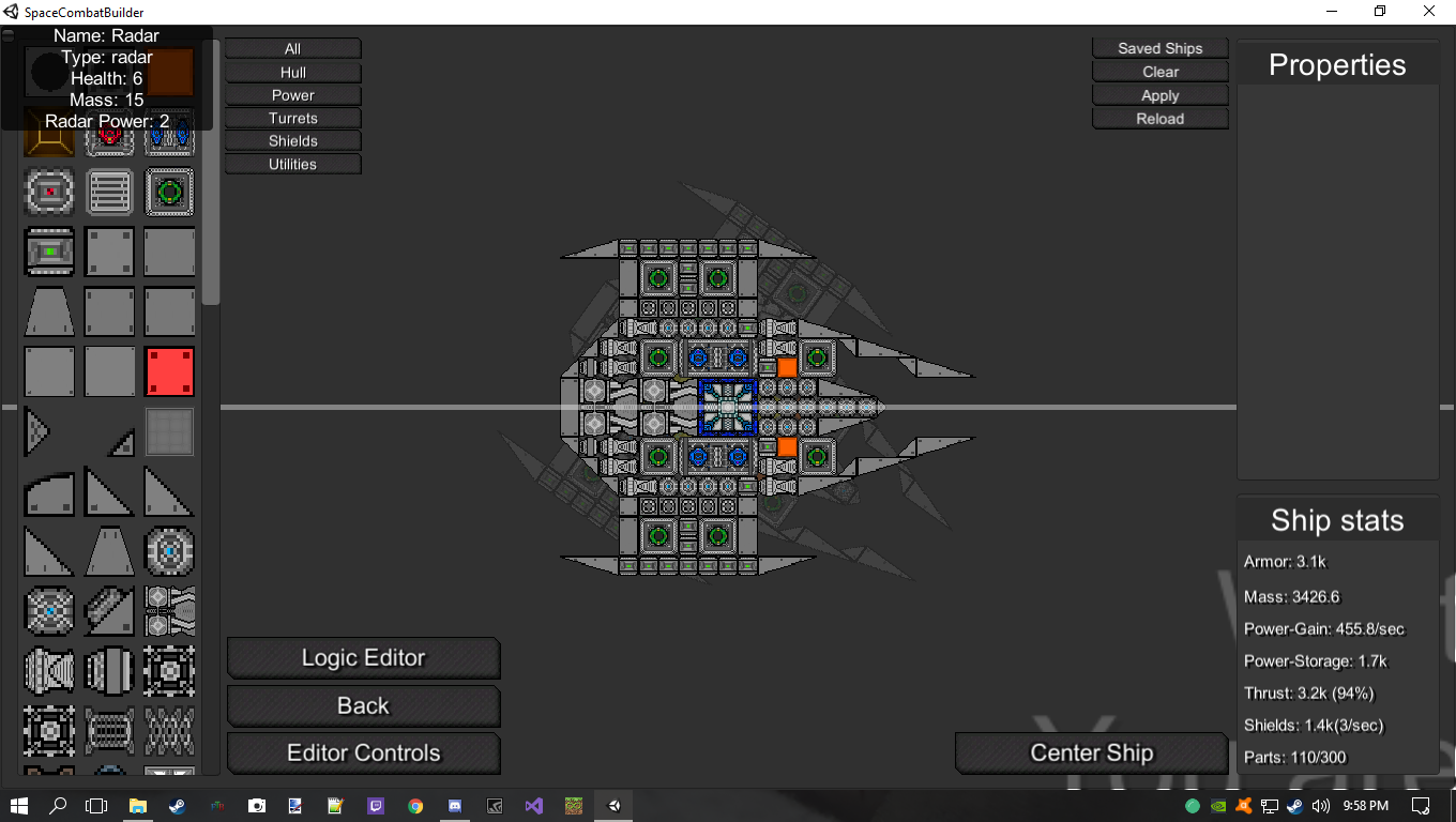 Space Combat Builder (Temporary name)