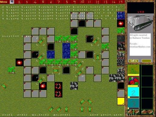 Tanks Game in 2002