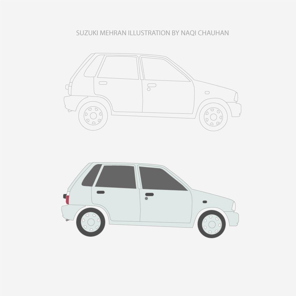 Car Sketch Illustration