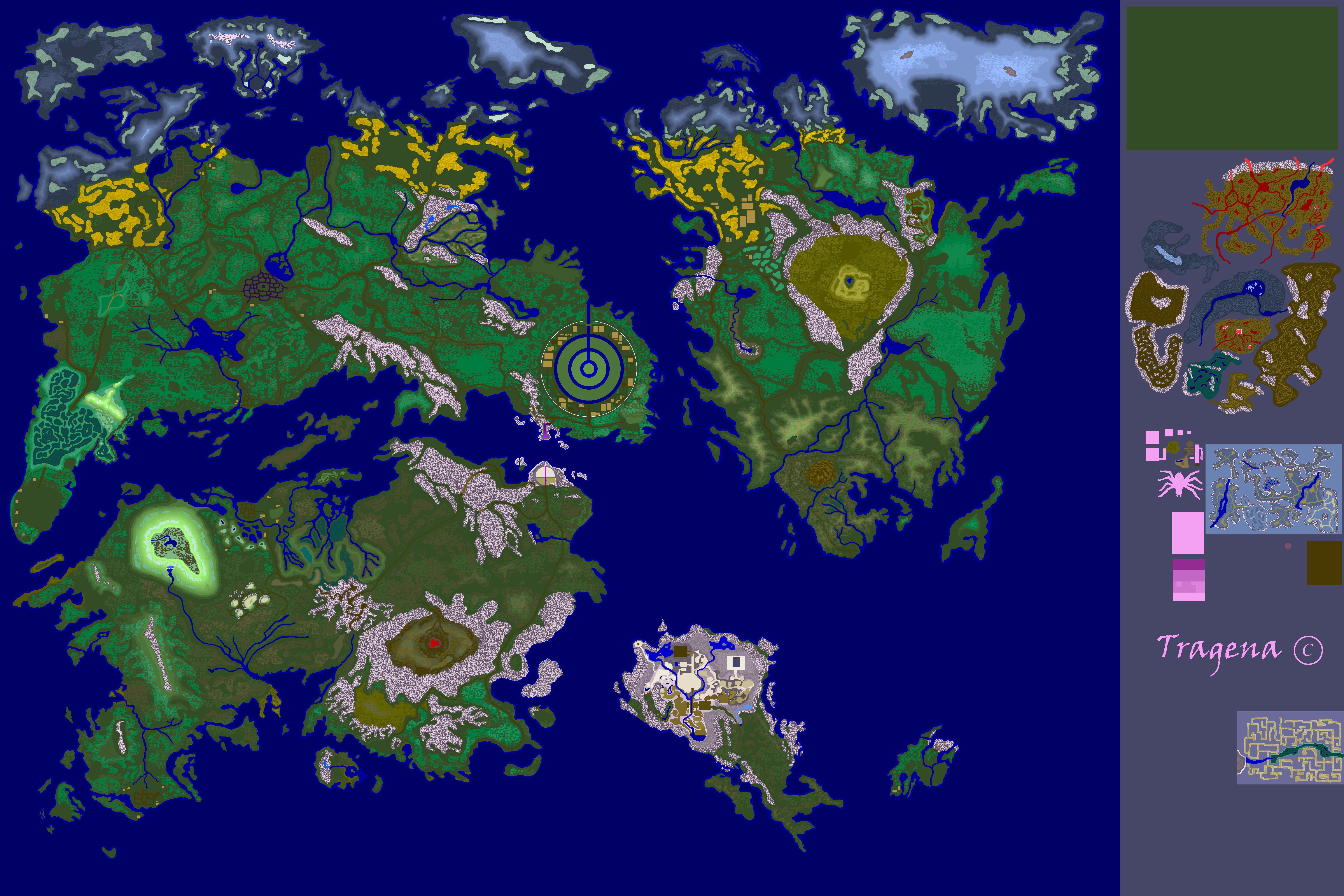 Ultima Online, Tragena free Shard Art Work