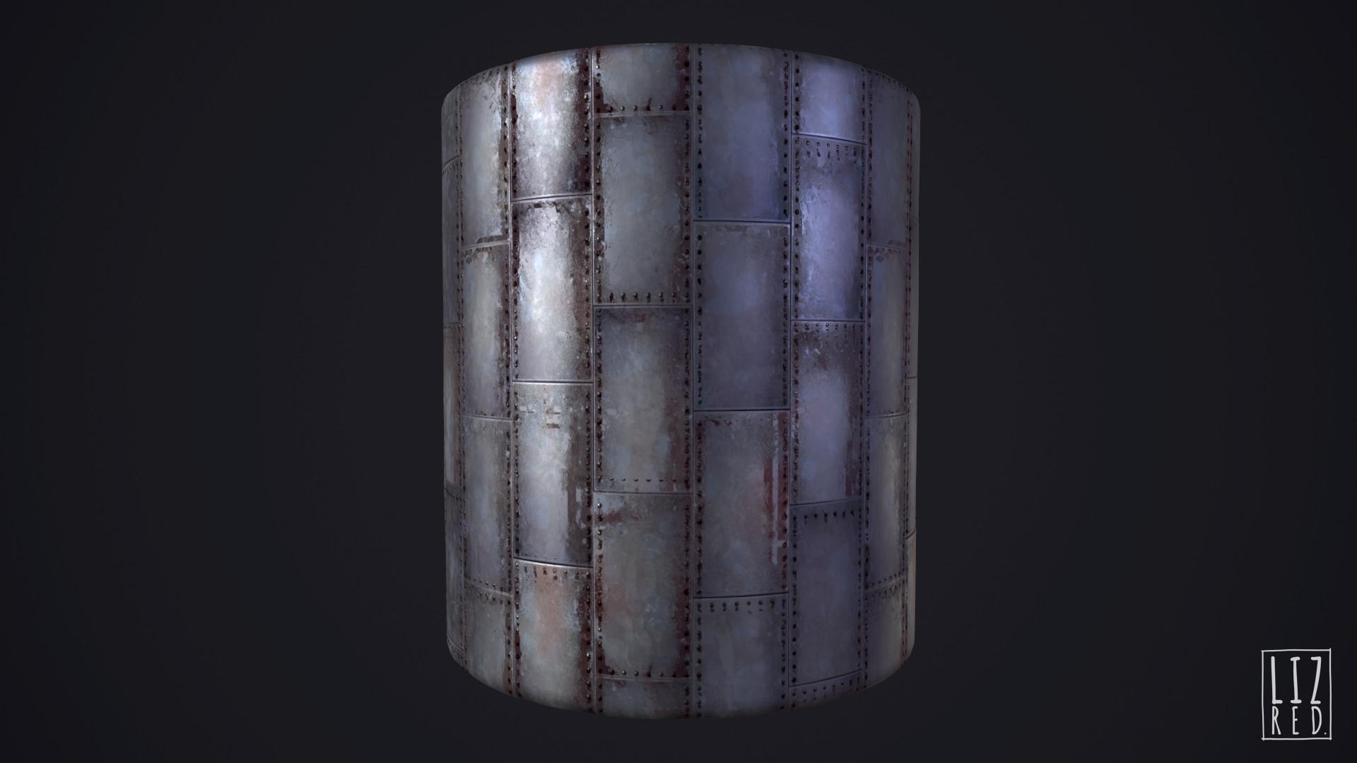 Substance Designer - Metal Panels