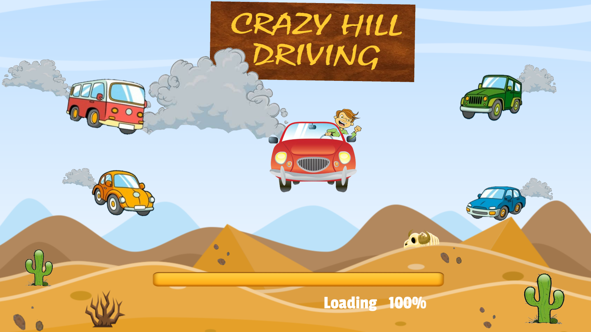 CRAZY HILL DRIVING