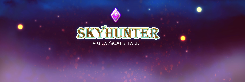 SkyHunter - a grayscale tale.