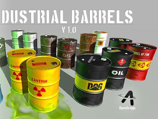 Industrial Barrels Pack