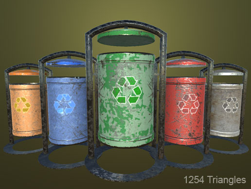01 HQ Trash Can