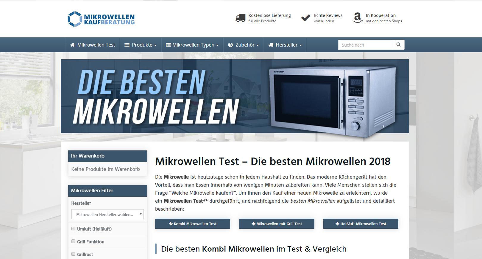 Mikrowellen-Testsieger.com