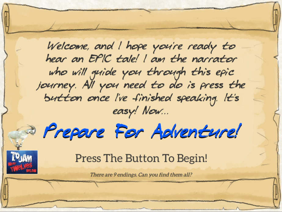 Prepare for Adventure