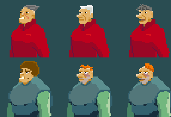 Pixel Dialog Busts
