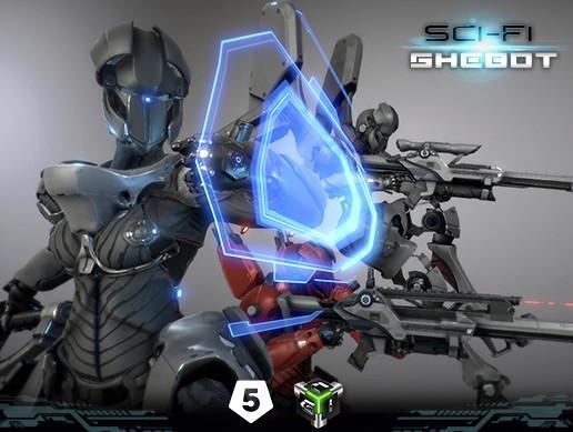 Sci-fi Shebot