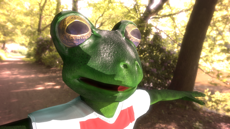 Spyx the Frog