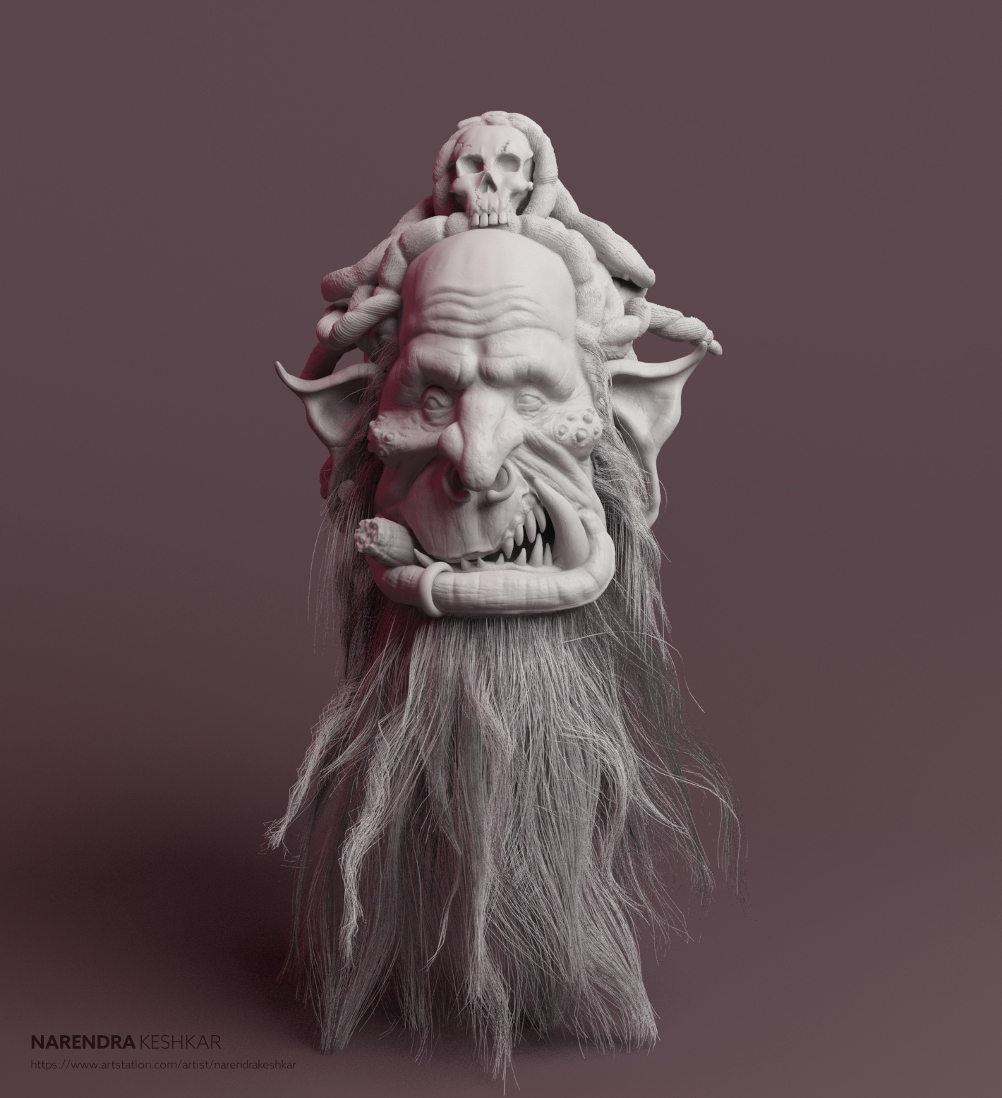 Old Orc Sculpt
