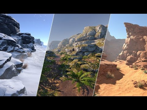 PBR Rocks Package - Unity Asset Store