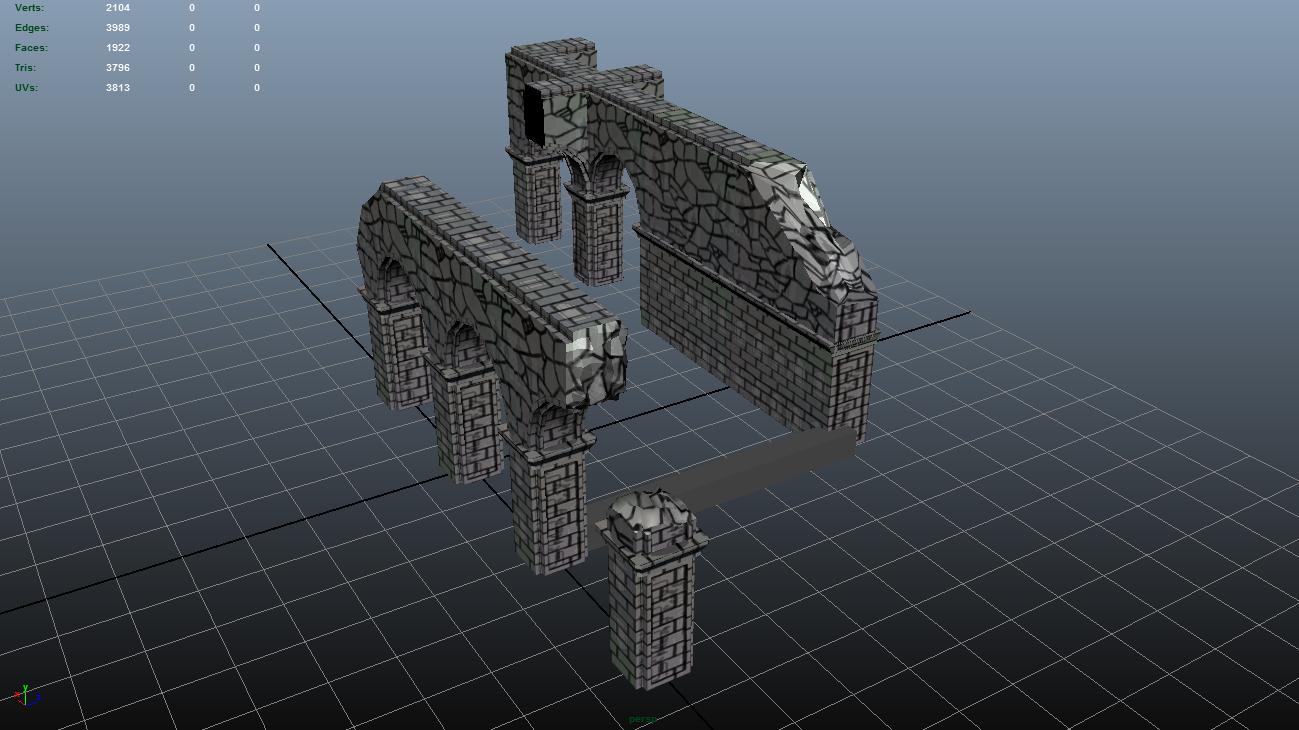 Vasai Ruins Kit WIP
