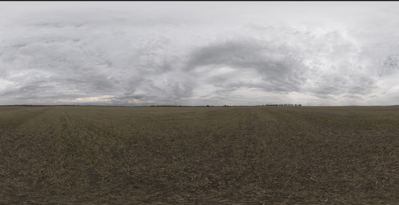 Cloudy hdr skybox