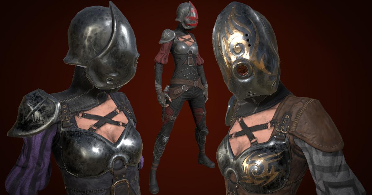 Post-Apocalyptic Female Warrior