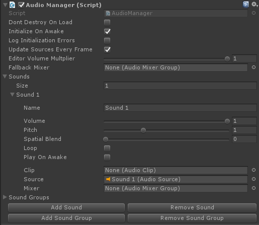 Audio Manager