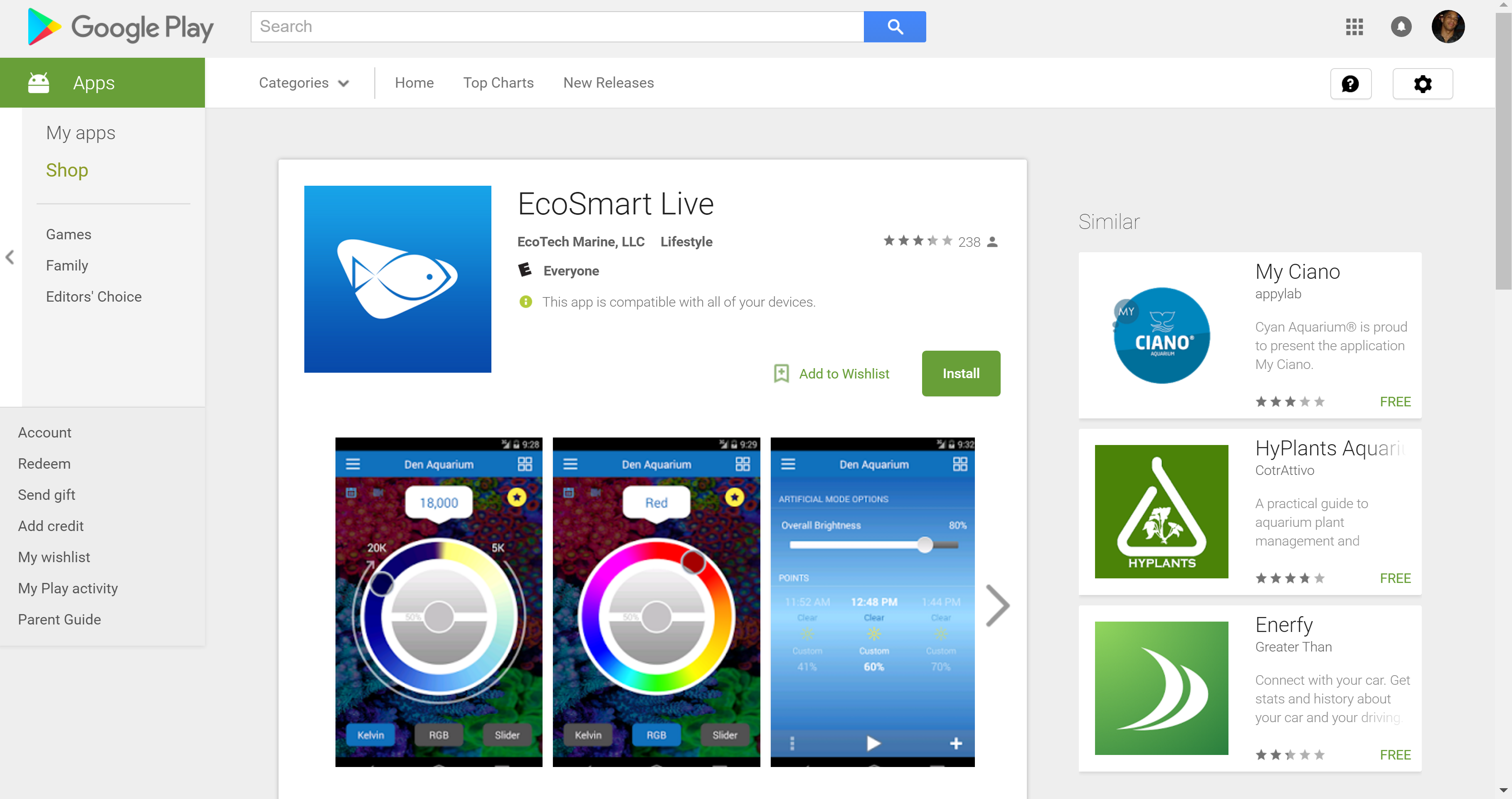 EcoSmart Live