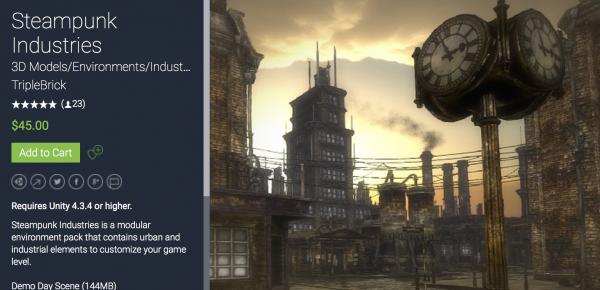 Steampunk Industries介绍