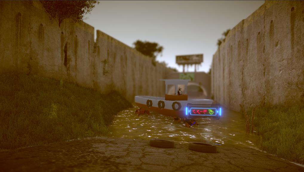 Neon: Sunk Tunnel