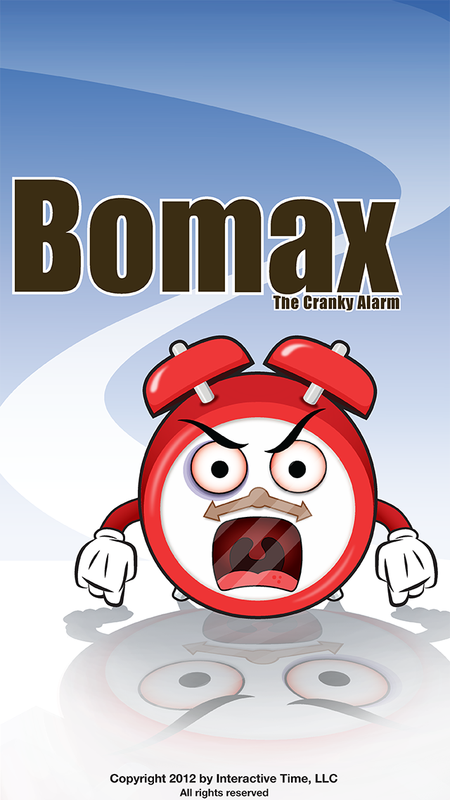 Bomax the Cranky Alarm Clock