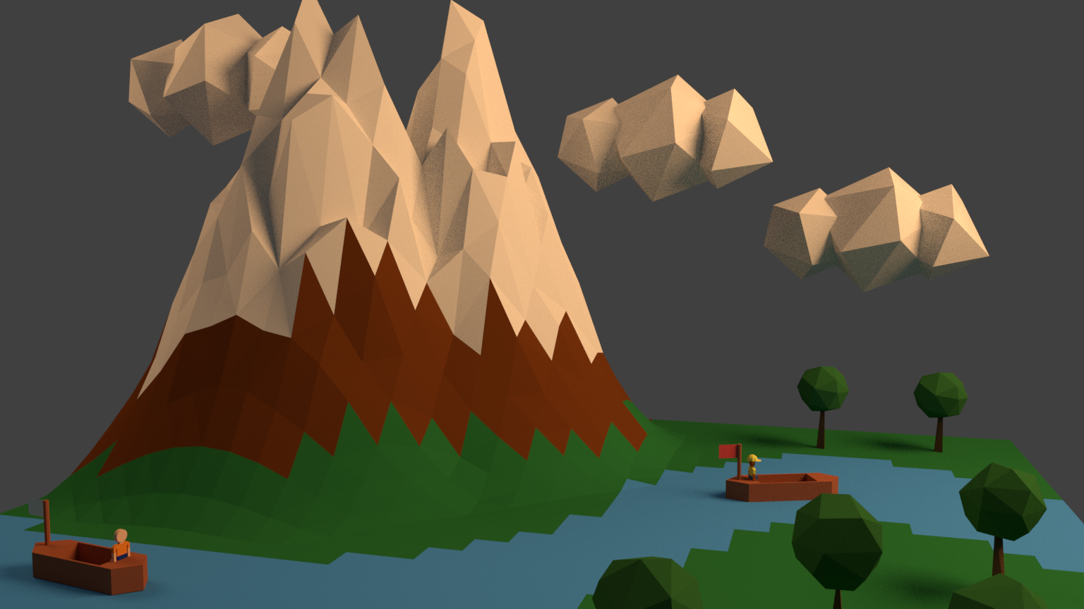Low Poly Projects