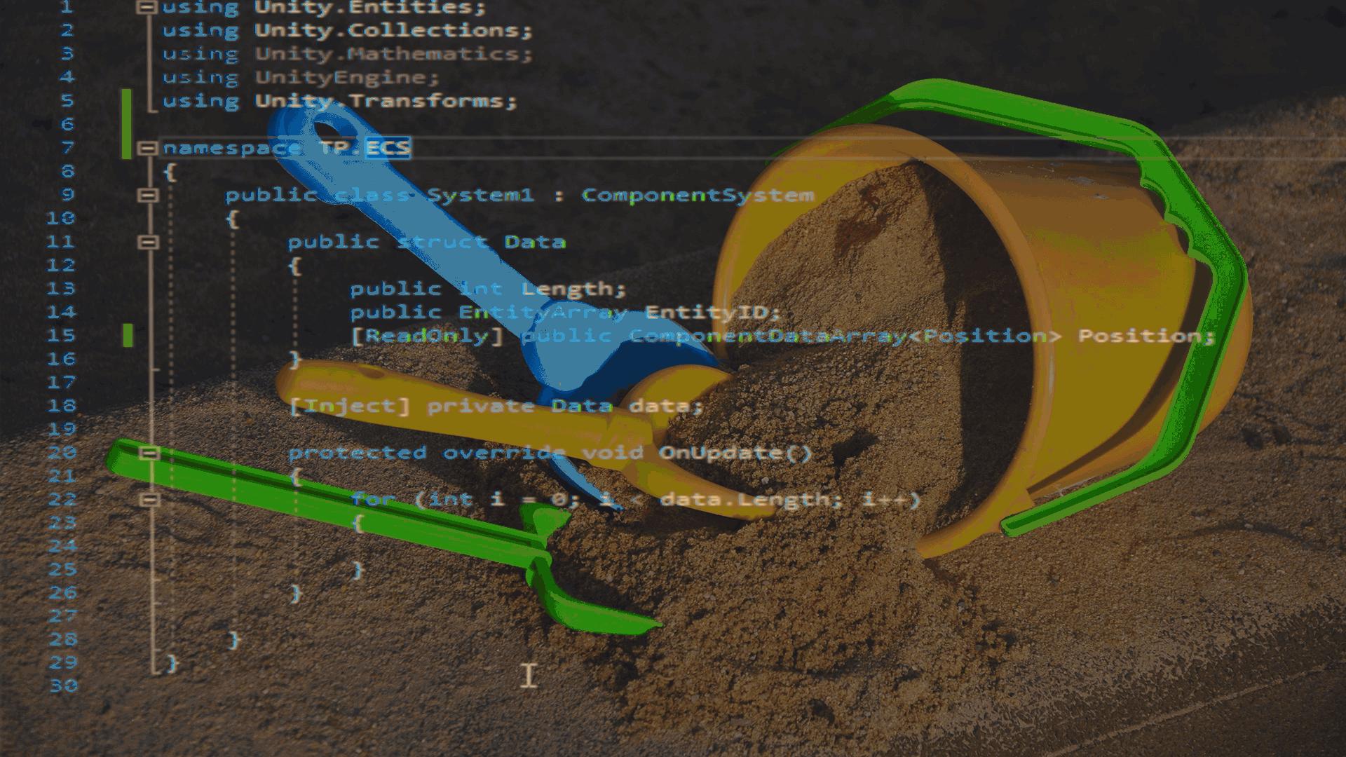 Unity ECS: Some system samples