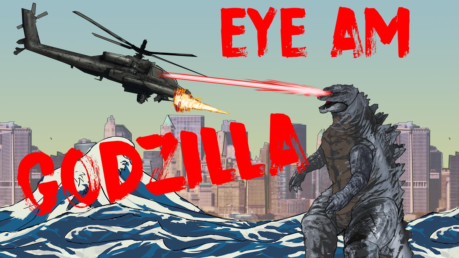 Eye Am Godzilla