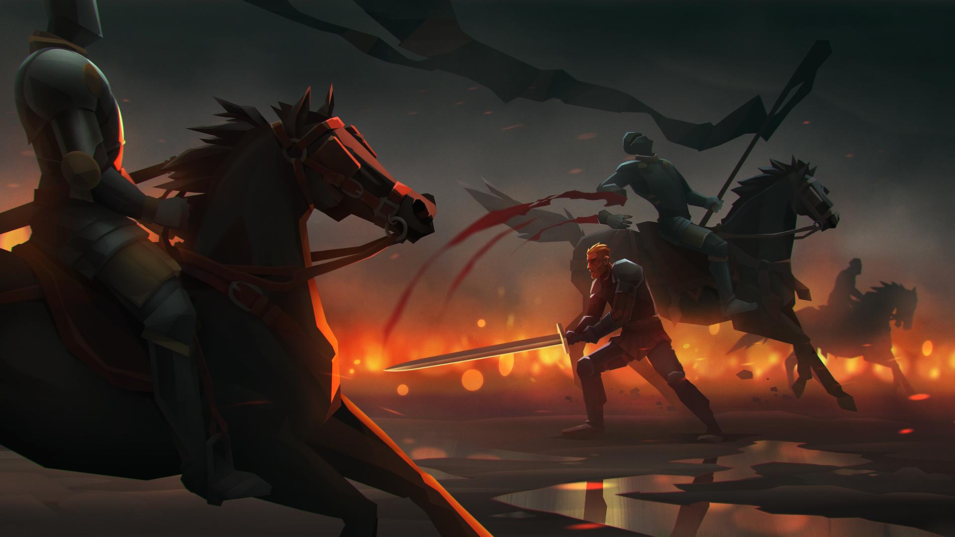 Promo illustrations for 5518 Studios
