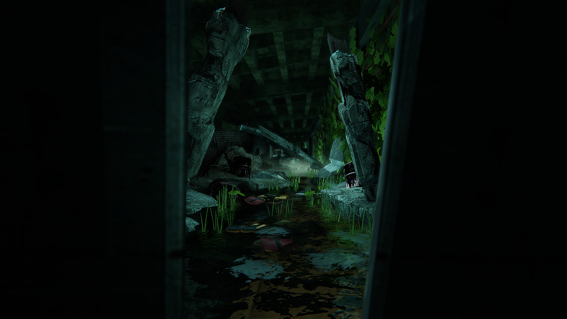 Collapsed Subway - Environment
