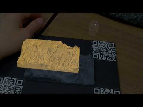 HoloTouch - Augmented Information on 3D Printed Objects