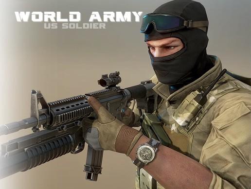 WA: US Soldier Pack