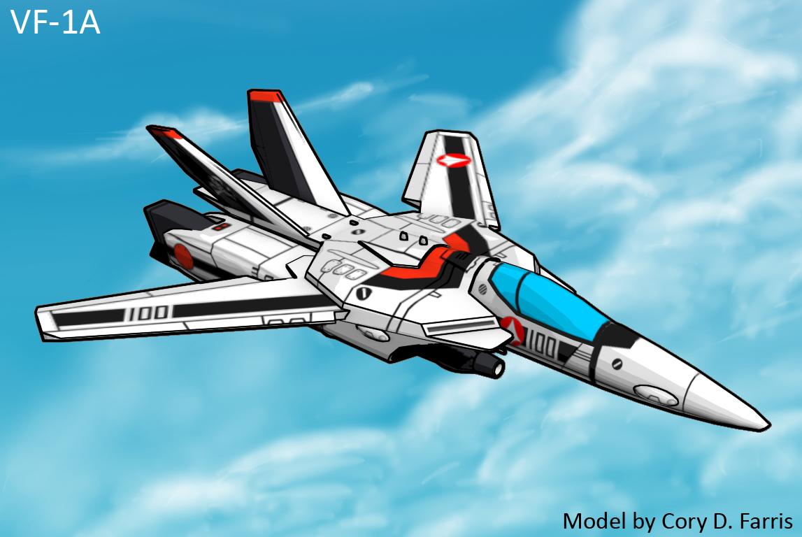 VF1A Valkyrie model
