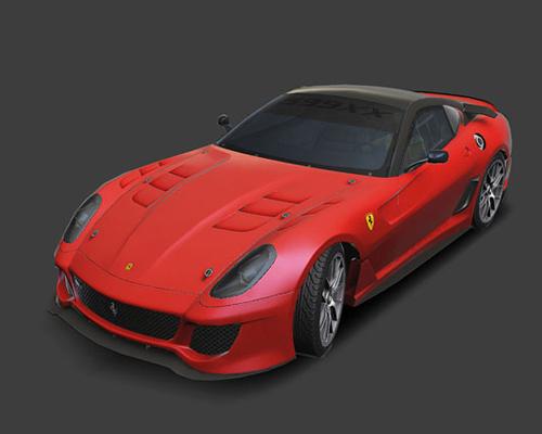 Car models from Asphalt