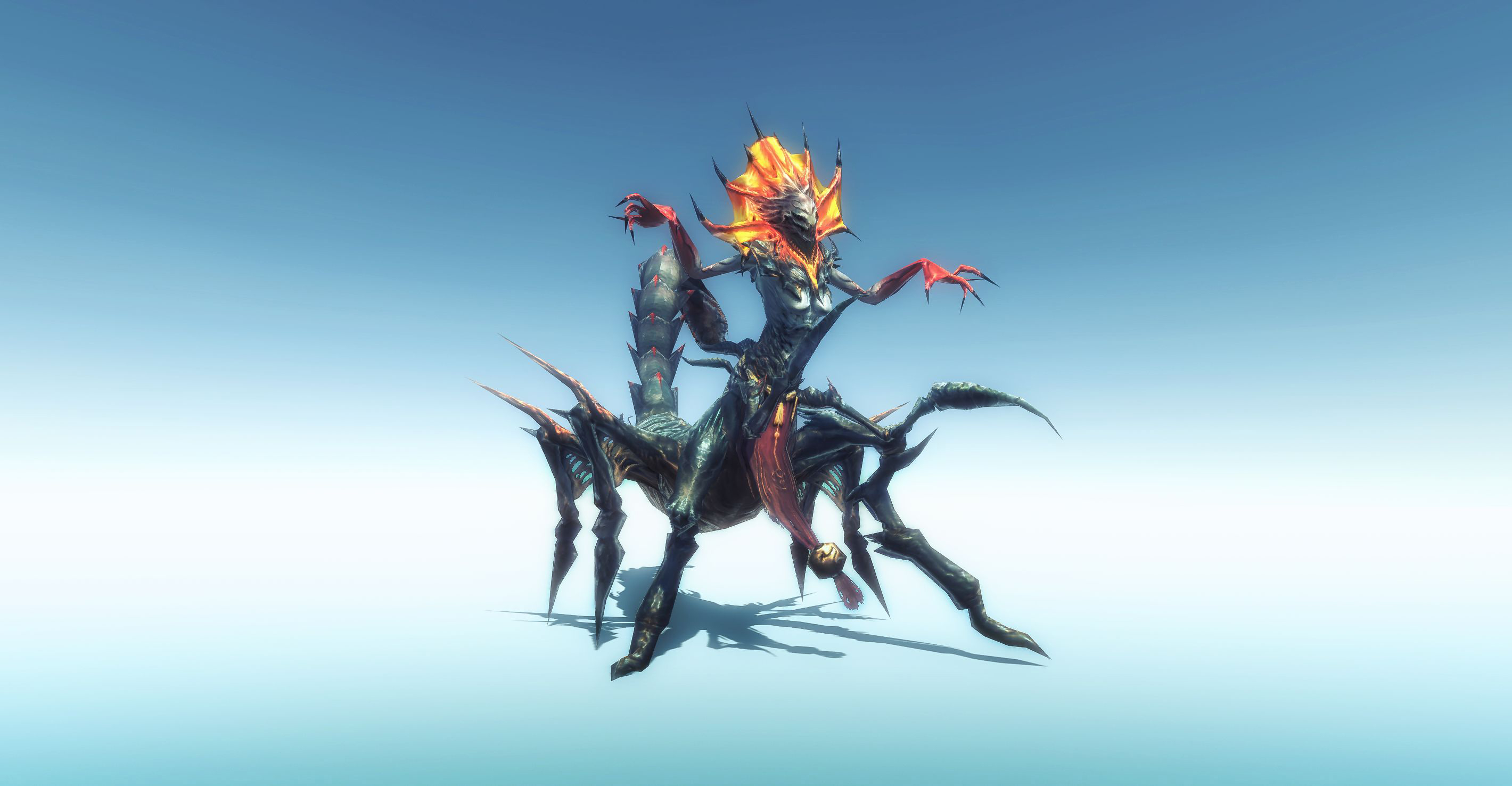 [Asset] Scorpion Queen Monster
