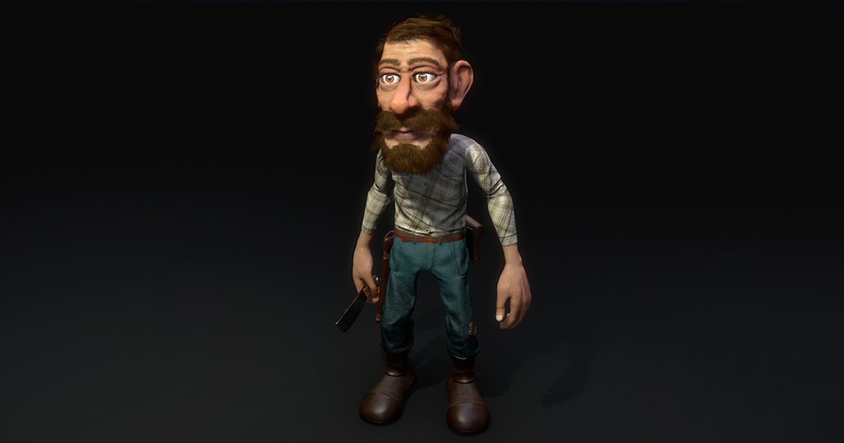 Country Man - Realtime character