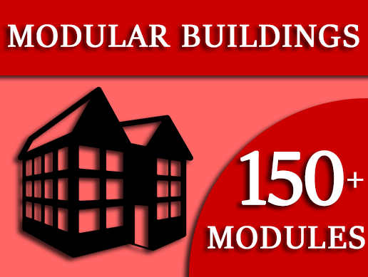Modular Buildings - Easy Building Blocks Pack 2.0