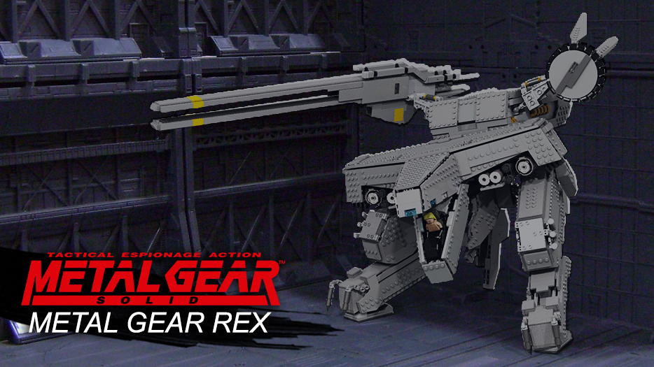 Lego Metal Gear Solid : Rex final fight (WIP)