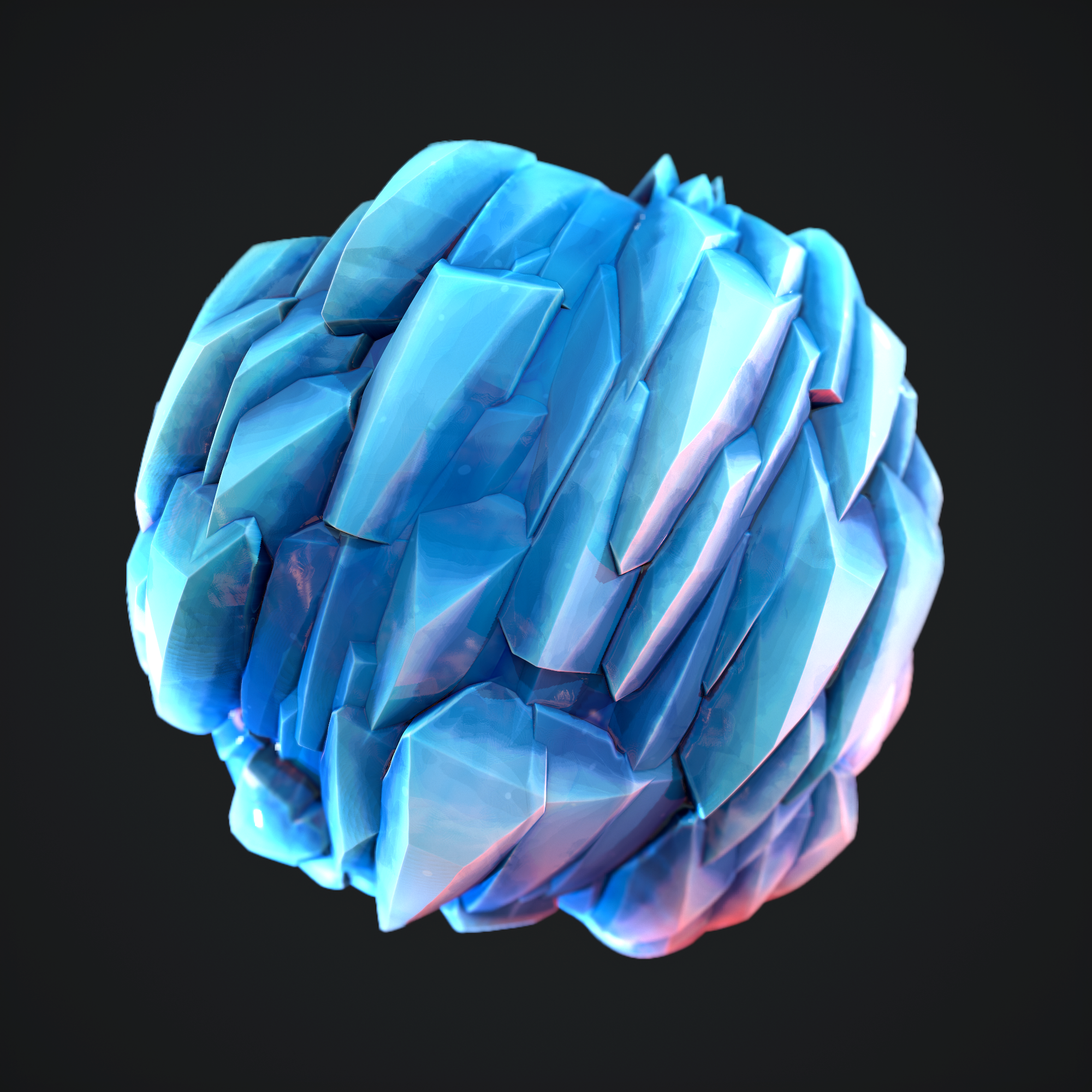 "stylized materials ""Ice"""