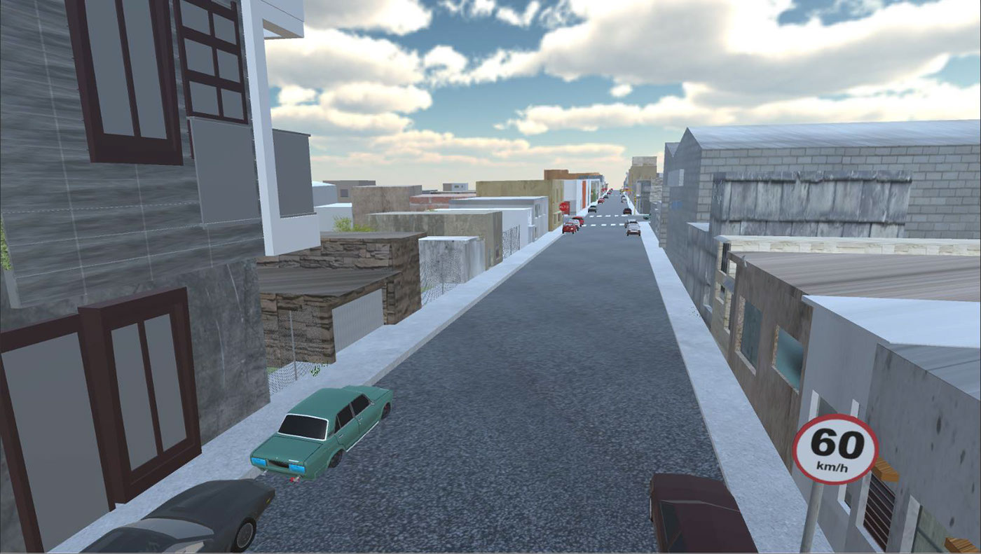 Vialidar   Virtual Reality Simulator For Traffic Evaluation