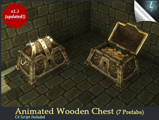 Animated Wooden Chest