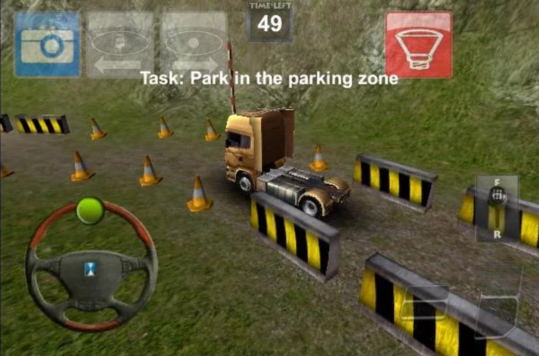 Parking Truck Deluxe
