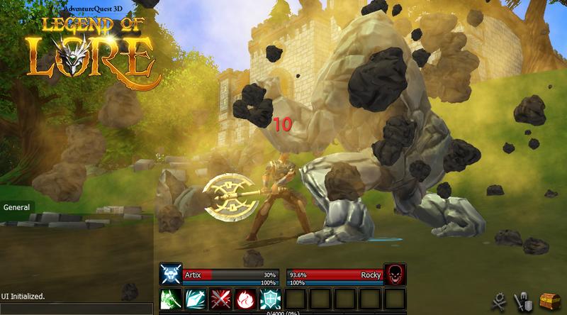 AdventureQuest 3D: Legend of Lore