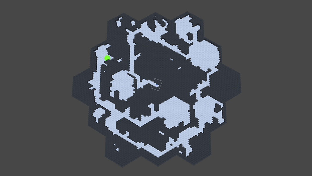 Hexagonal Dungeon Procedural Generation Prototype