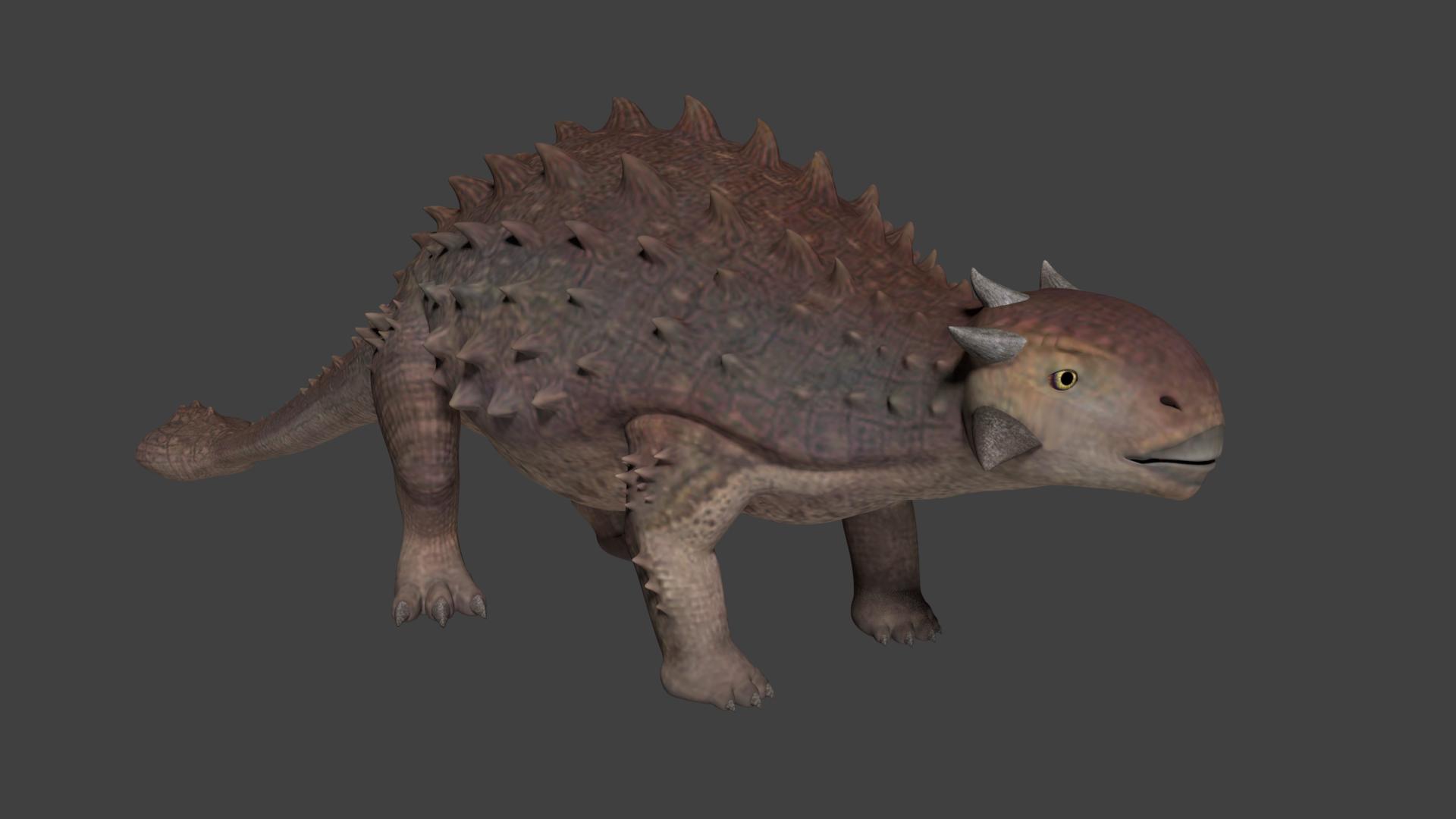 Realistic Ankylosaurus - Unity Asset