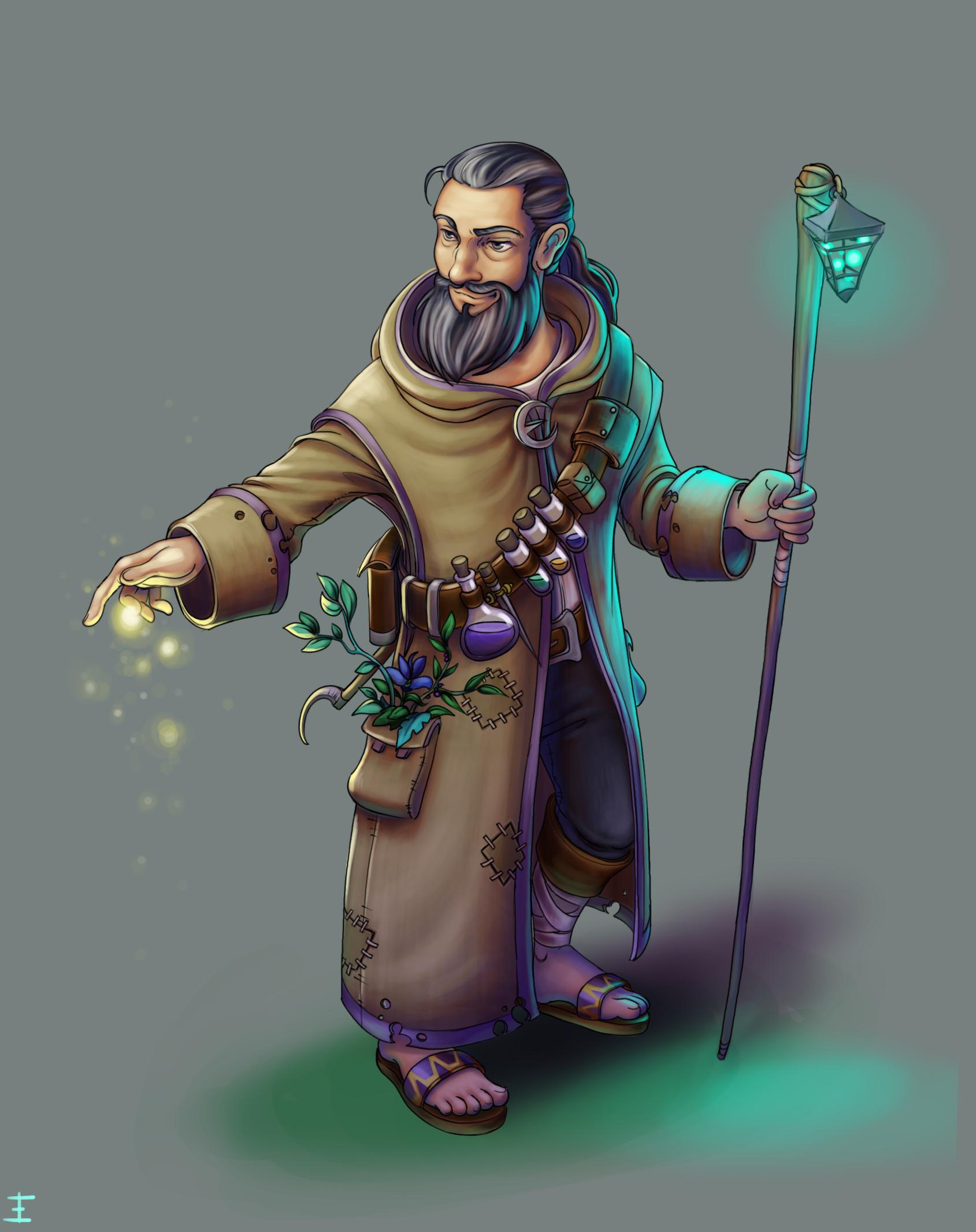 Character Design : Alchemist
