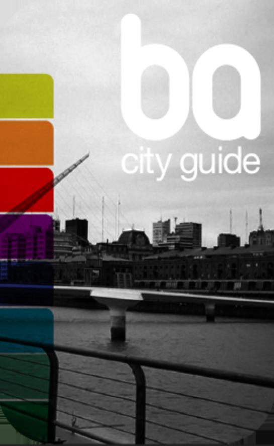 """Main Dev in """"BA City Guide"""""""