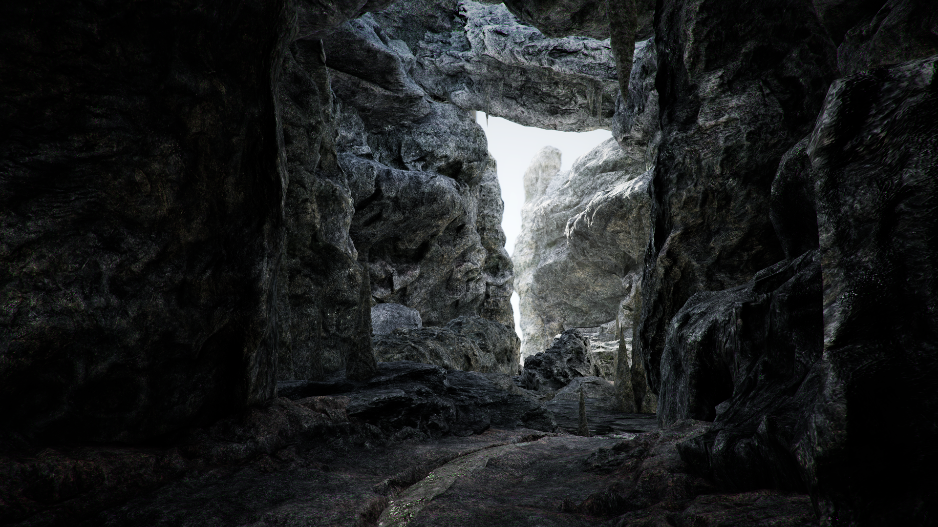 Dark Cave Environment